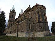 Bazilika Nanebevzetí Panny Marie v Gruntě.