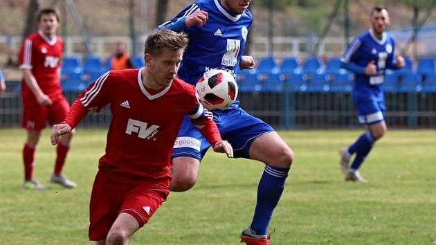 Z utkání FK Kolín - Dvůr Králové (0:0, PK 3:5).
