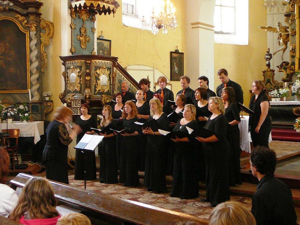 Koncert v žehuňském kostele