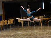 Tanečnice ladily poslední figury před odletem na mistrovství světa