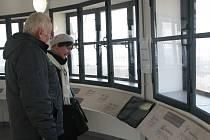 Vodárna v Kolíně slouží jako rozhledna