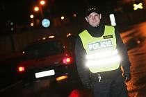 Dopravní policiejní akce PČR na Kolínsku. 23.1. 2009
