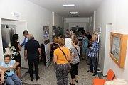 Otevření zrekonstruované hlavní budovy českobrodské nemocnice.