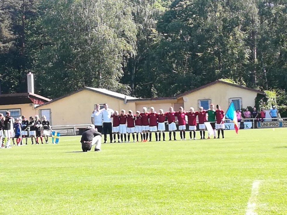 Mladí a nadějní hráči Kolína si ve výběru Evropy zahráli proti evropským gigantům.
