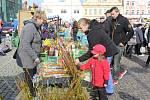 Velikonoční trh v Kolíně navštívily stovky lidí
