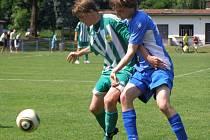 Z utkání staršího dorostu FK Kolín - Rapid Liberec (2:3).