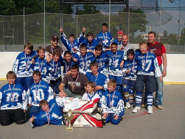 Tým mladších žáků je nejlepším týmem v republice.