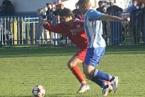 Z utkání Velký Osek - Konárovice (4:0).