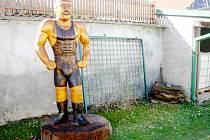 Socha Gustava Frištejnského bude stát na Kamhajku