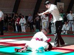 Souboje mladších žáků v kategorii fighting.