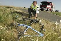 Dopravní nehoda u Ovčár