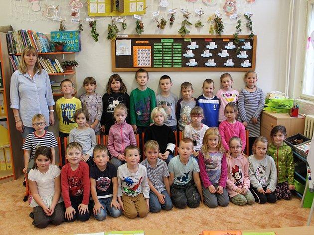 2. základní škola vČeském Brodě: třída 1.C ve školním roce 2019/2020.