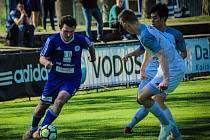 Z utkání FK Kolín - Turnov (6:0).
