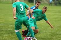 Z utkání Plaňany - Tuchoraz (7:3).