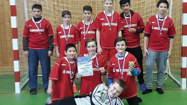 Žáci z 5. ZŠ Mnichovická obsadili v mladší kategorii třetí místo.