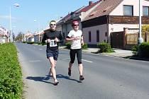Tři kiláky do konce s Janou Teplou, která doběhla jako druhá nejrychlejší žena.