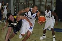 Z přátelského utkání  BC Kolín - Benešov.