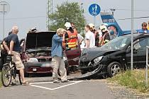 Dopravní nehoda u Hradišťka I