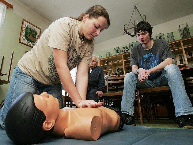 Posluchači se naučili, jak poskytnout první pomoc