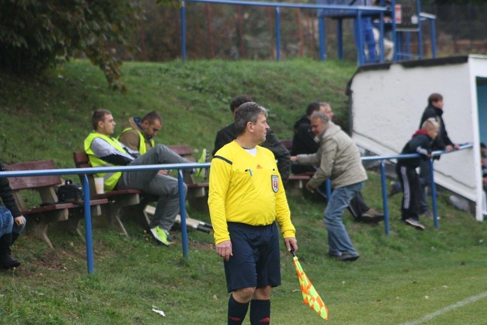 Z utkání Polepy - Liblice (1:0).
