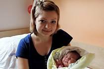 Adéla Kadeřábková se rozplakala 27. června 2016 smírami 53 centimetry a 4360 gramů. Maminka Jana a tatínek Jiří si svou prvorozenou odvezli do Sokolče.