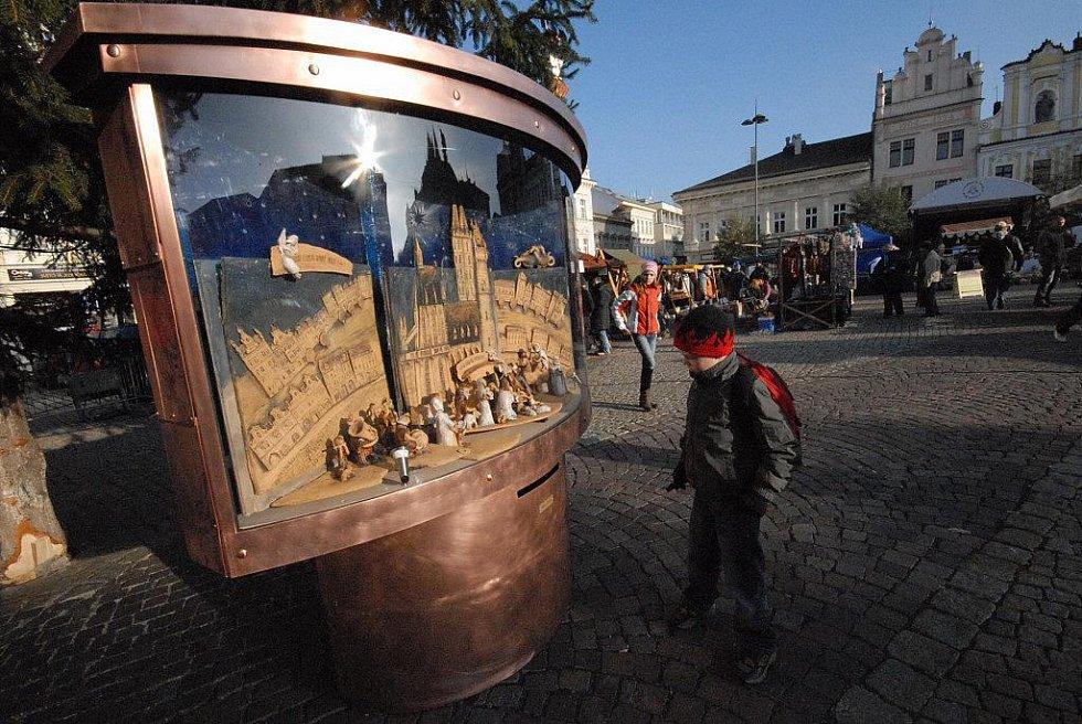 Řemeslný trh na Karlově náměstí, pátek 25. listopadu 2011