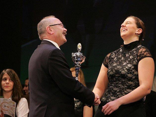 Sportovkyní Kolínska pro rok 2009 se stala Kateřina Šafránková