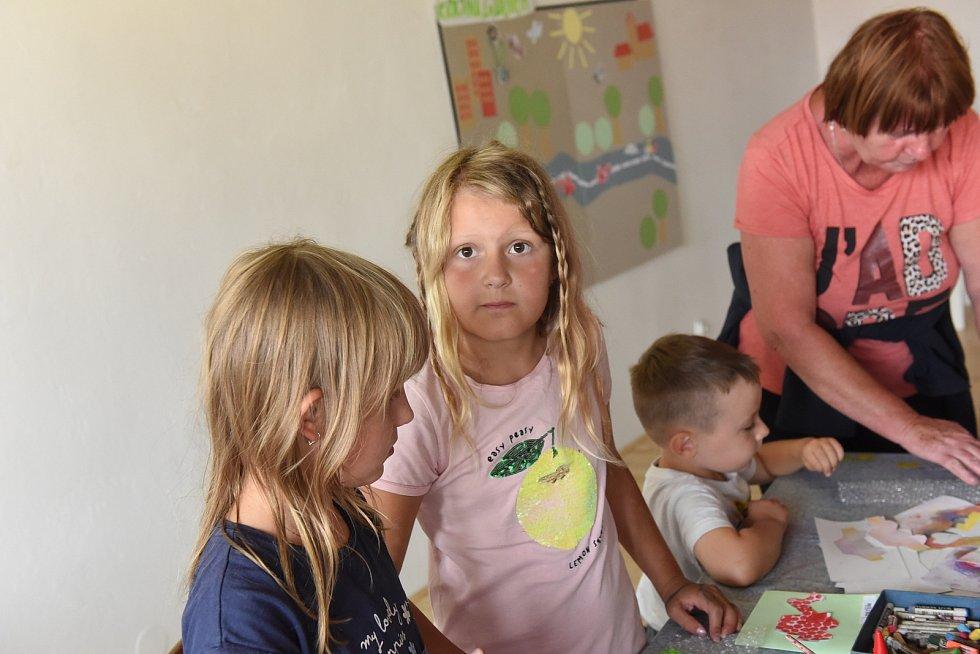 Čtení dětem v kolínském muzeu spojené s příjemnou hernou