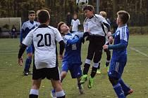 Přátelské utkání FK Kolín U15 - Admira Praha (2:8).