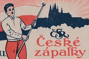 Historické obaly sirek