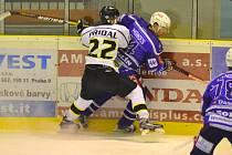 Hokejisté Kolína si připsali páté vítězství v řadě. Naposledy zvítězili v Moravských Budějovicích o dva góly.