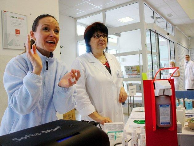 Světový den hygieny rukou v kolínské nemocnici