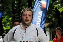 Kolínský starosta Vít Rakušan na Mezinárodním festivalu běhu 2013