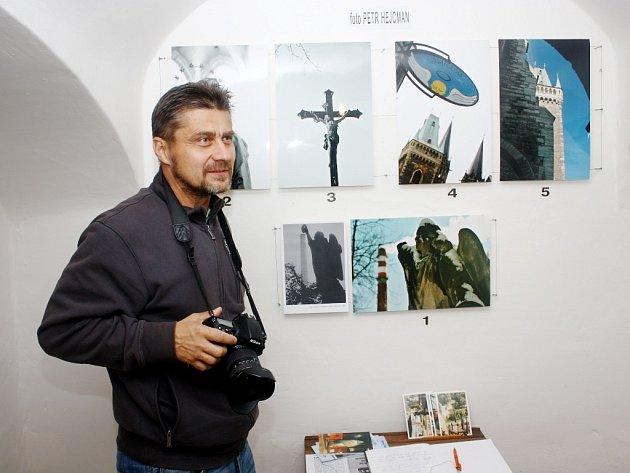 Dernisáž výstavy Petra Hejcmana
