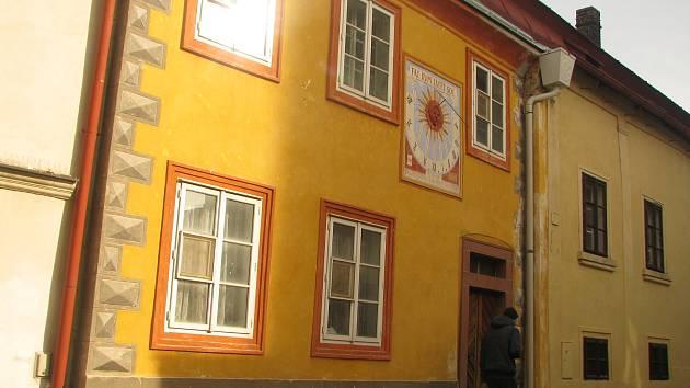 Dům čp. 17 v Brandlově ulici v Kolíně. Takzvaný Kamarýtův dům.