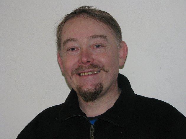 Miroslav Horáček, šéf skupiny historického šermu páni zKolína.