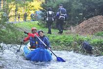Krásy přírodní lokality v okolí Vavřineckého potoka dobře znají vodáci z tradičního sjíždění. To se ale už druhým rokem nekonalo.