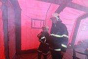 Před třemi lety obdrželi hasiči rovněž 400 tisíc na pořízení speciálního kouřového stanu.