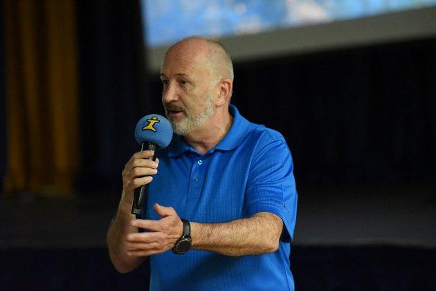 Jiří Kolbaba vyprávěl o svém cestování.