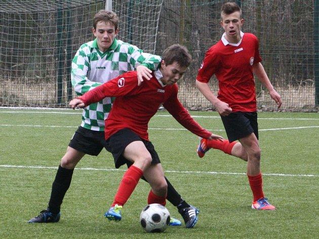 Z utkání FK Kolín U17 - MFK Chrudim (0:3).