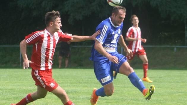 Z přípravného utkání FK Kolín - Zápy (3:3).