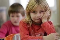 Prvňáčci z cerhenické základní školy