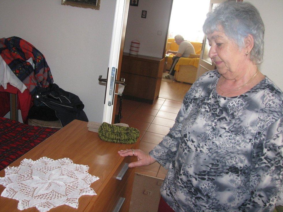 Miluše Žižková a její výrobky