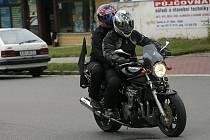 Pohřeb kolínského strážníka a motorkáře