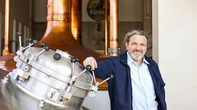 Novým šéfem velkopopovického pivovaru se stal 44letý Václav Šimek.