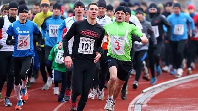 Poslední ročník Silvestrovského běhu měl nejlepší účast v historii. Na start se postavilo celkem 218 běžců a běžkyň.
