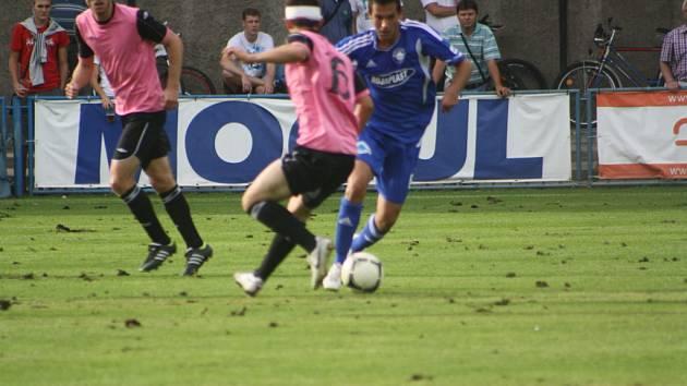 Z utkání FK Kolín - Roudnice nad Labem (2:2).