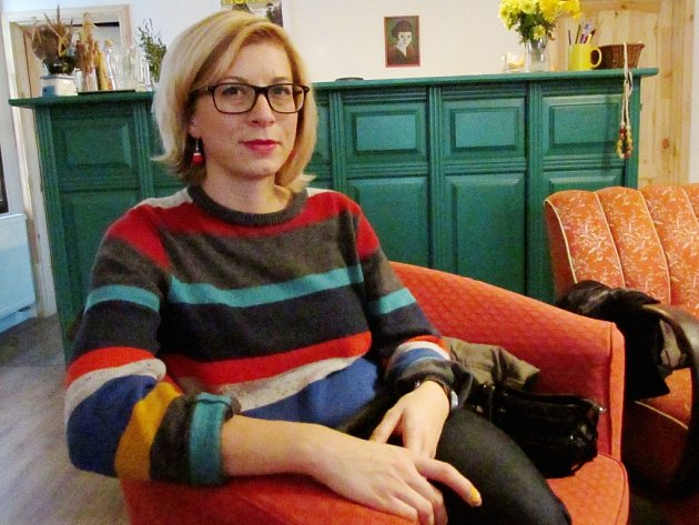 Veronika Jankulíková vyučuje češtinu pro cizince