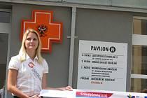 Ze slavnostního otevírání nově zrekonstruovaného pavilonu N Oblastní nemocnice Kolín