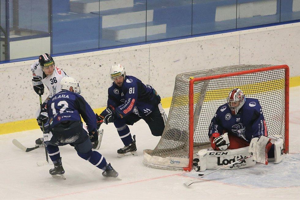Hokejové utkání mezi Kolínem a Benátkami nad Jizerou se hrálo v sobotu 23. ledna 2021.